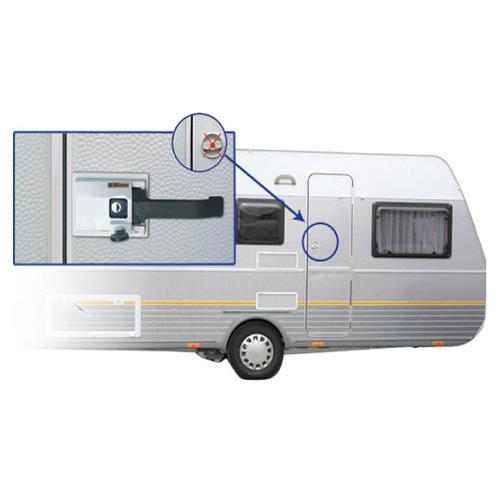 Serrure De Sécurité Pour Porte ZADI HEOSafe - Serrure porte camping car