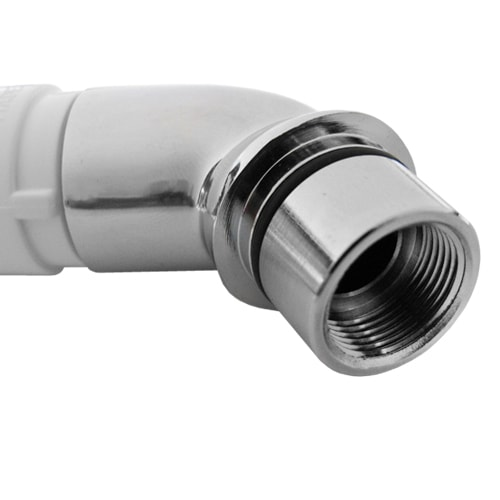 AQVALESS douchette efficacit/é /énerg/étique A + /économie deau support et tuyau pour WC et camping-car pommeau de douche haute pression en ABS assemblage universel et bricolage fabriqu/é en Italie