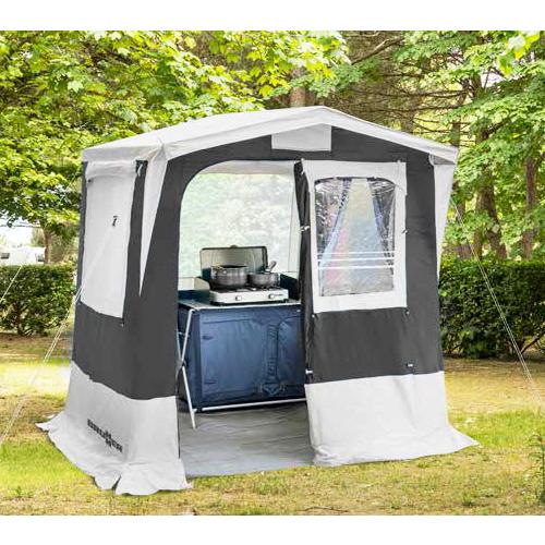 tente cuisine gusto brunner 200 x 150 idéal en camping-car & caravane