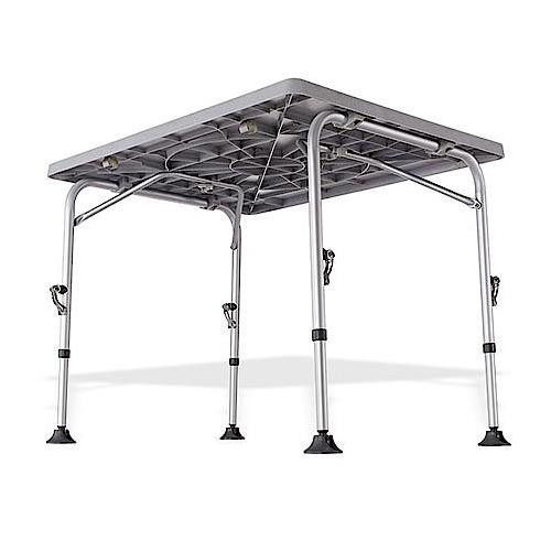 table de camping westfield 115x70 cm idéale en camping-car & caravane