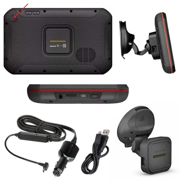 GPS Garmin Camper 785 MT-D Europe + caméra intégrée - Camping-car