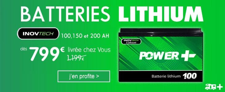 Batterie Lithuim