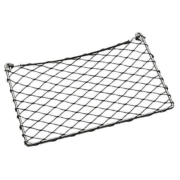 accessoires rangement cellule filet de rangement sur cadre metallique 500 x 200 mm pour camping. Black Bedroom Furniture Sets. Home Design Ideas