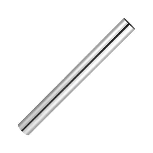 Pied de table tube chromé H 70 cm