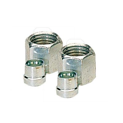 Ecrou avec Olive gaz 8mm - lot de 2