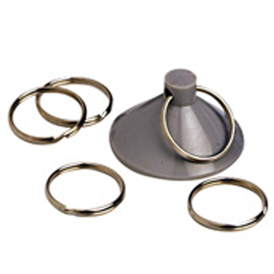 Pochette de 10 ventouses   anneaux
