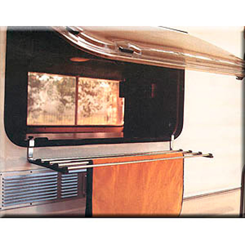 s choirs et tendages etendage de fenetre telescopique pour camping car et caravane. Black Bedroom Furniture Sets. Home Design Ideas