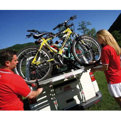 porte v los fiamma carry bike t5 hayon possible 2 rails supplementaires pour camping car et car. Black Bedroom Furniture Sets. Home Design Ideas