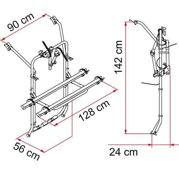 porte v los fiamma carry bike t5 hayon possible 2. Black Bedroom Furniture Sets. Home Design Ideas