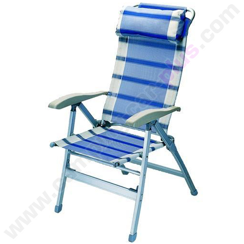 fauteuils chaise fauteuil alu dos haut bleu pour campings cars caravanes ou autres. Black Bedroom Furniture Sets. Home Design Ideas