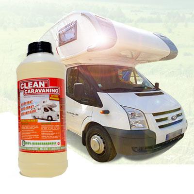 Nettoyant clear caravaning pour camping car et caravane - Produit wc camping car ...