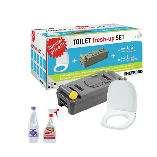 kit fresh up thetford wc chimique cassette c2 3 4 camping. Black Bedroom Furniture Sets. Home Design Ideas