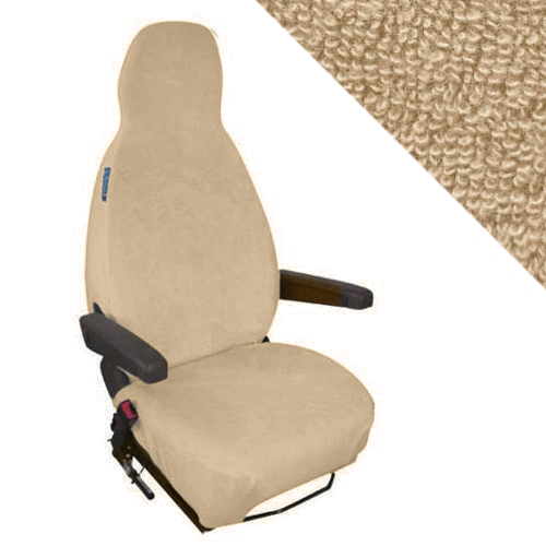 Housses sièges camping car Beige-Sable