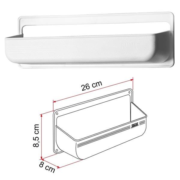 Pocket M FIAMMA Blanc