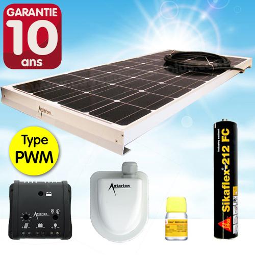 Kit complet panneau solaire140w haute performance camping car caravane - Panneau solaire mobil home ...