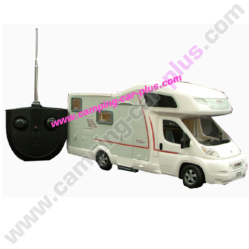 jouet hymer camp t l guid 30cms accessoires equipement pour camping car. Black Bedroom Furniture Sets. Home Design Ideas
