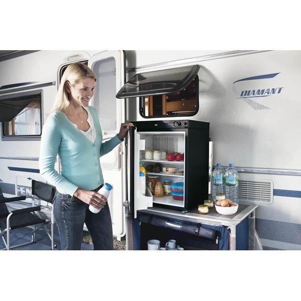 r frig rateur dometic trimixte 12v 230v gaz 56l accessoires equipement pour camping car. Black Bedroom Furniture Sets. Home Design Ideas