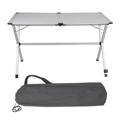 Table De Camping Alu Gap Less 110x70cm