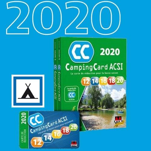 ou acheter la carte acsi 2020 Guide ACSI 2020 CAMPINGCARD Des réductions dans 3400 campings d'Europe