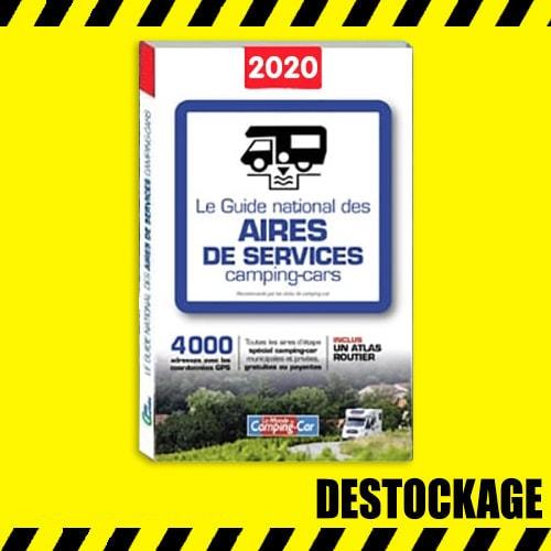 DÉSTOCKAGE Guide National des aires de services camping-car 2020