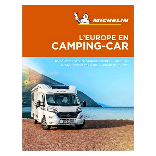 guide michelin europe en camping car 2019 aires de service campings. Black Bedroom Furniture Sets. Home Design Ideas