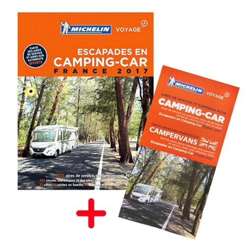 Guide Escapades en camping-car France 2017 + Carte
