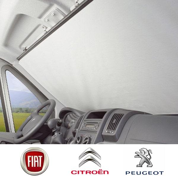 Rideaux Et Volets Extérieurs Pour Camping Car Store De Pare Brise Pour Fiat Ducato Type 250 Et Peug