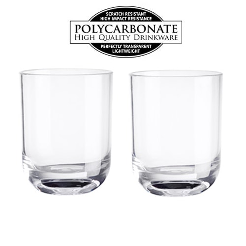2 verres cocktail 35cl en polycarbonate - Verre en polycarbonate ...
