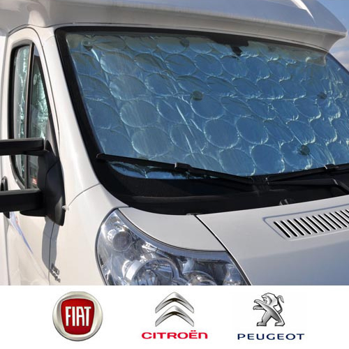 Rideau isolation cabine luxe Ducato depuis 2007
