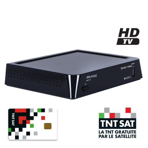 demodulateur tnt hd microsat system 12 v ms306 ir2 pour. Black Bedroom Furniture Sets. Home Design Ideas