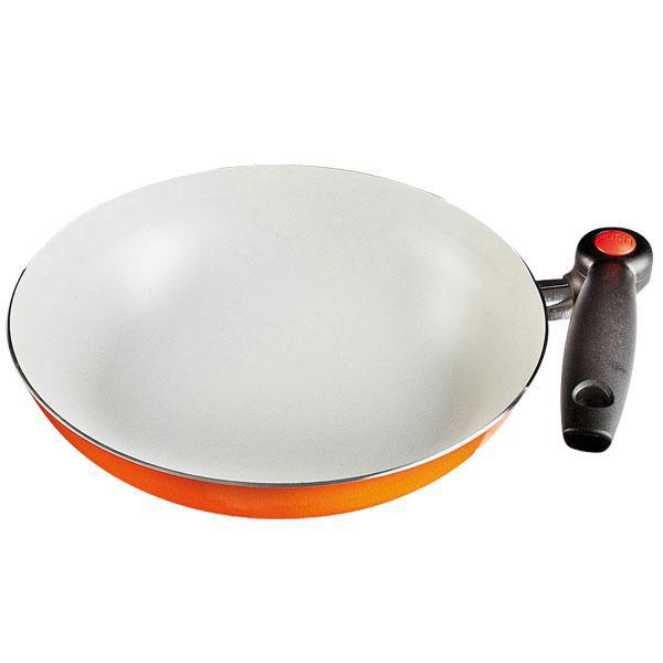 Poêle MANDARINA PAN avec poignée rétractable