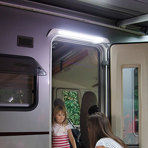 clairage auvent led awning light gutter fiamma camping car. Black Bedroom Furniture Sets. Home Design Ideas