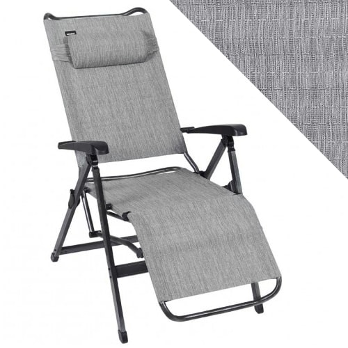 fauteuil relax aluminium trigano titane jardin camping. Black Bedroom Furniture Sets. Home Design Ideas