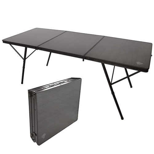 Table valise de camping onyx triad 180 x 70 cm camping car caravane - Table camping valise ...