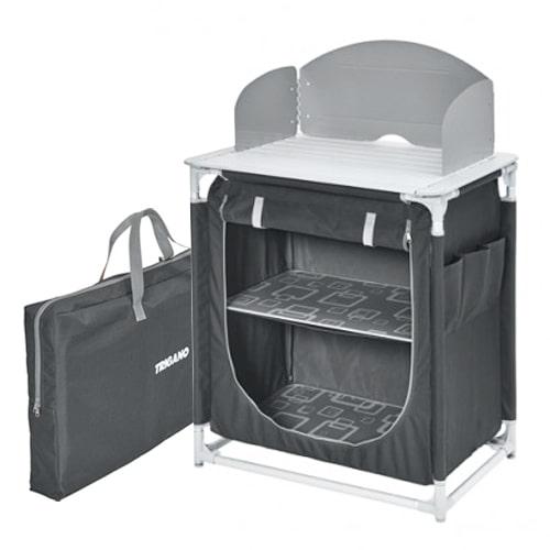 meuble de cuisine trigano gris pour auvent de camping car. Black Bedroom Furniture Sets. Home Design Ideas