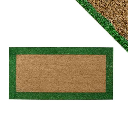 Tapis coco 25 x 50cm vert - Prix tapis coco ...