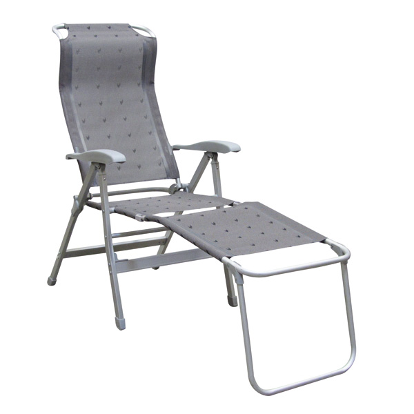 fauteuil repose pied camping gris galon accessoire fauteuil camping. Black Bedroom Furniture Sets. Home Design Ideas