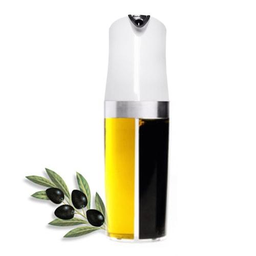 Shaker huile et vinaigre 2 en 1 - Huile et vinaigre ...