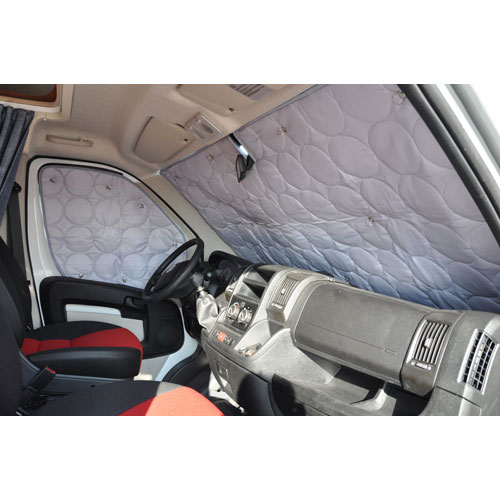 Rideau isolation cabine luxe vw t5 for Rideau interieur