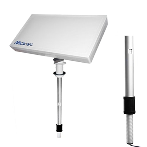 antenne satellite plate msat330 microsat pour camping car. Black Bedroom Furniture Sets. Home Design Ideas