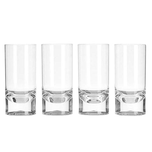 Lot de 4 verres acryliques 29cl