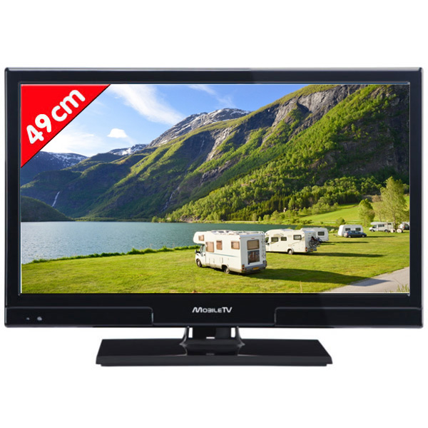 tele mobil tv hd dvd led 46 9 cm speciale camping car. Black Bedroom Furniture Sets. Home Design Ideas