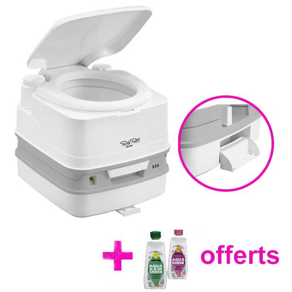 Toilette porta potti qube 335 thetford - Produit wc camping car ...