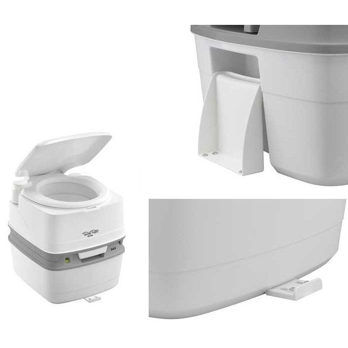 kit de fixation au sol pour toilette portable porta potti qube 165 365. Black Bedroom Furniture Sets. Home Design Ideas