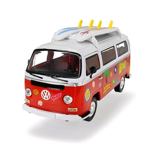 jouet surfer van volkswagen 32cm friction campervan. Black Bedroom Furniture Sets. Home Design Ideas