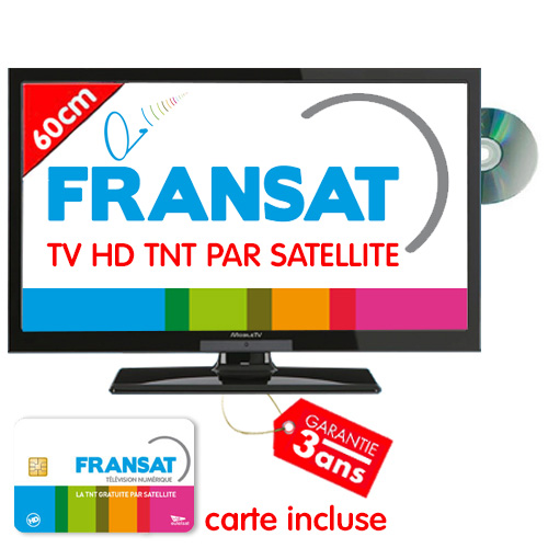 tv hd dvd 59cm mobiletv fransat. Black Bedroom Furniture Sets. Home Design Ideas