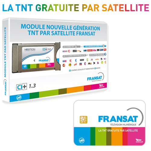 module nouvelle g n ration tnt hd par satellite fransat. Black Bedroom Furniture Sets. Home Design Ideas