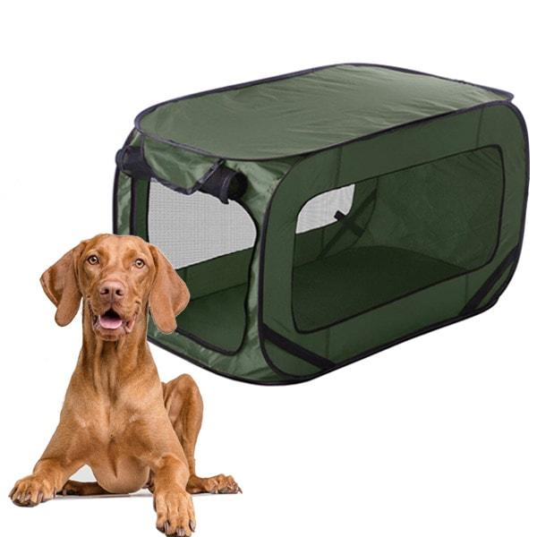 Niche pliable pour animaux 54cm - Niche pliable pour chien ...