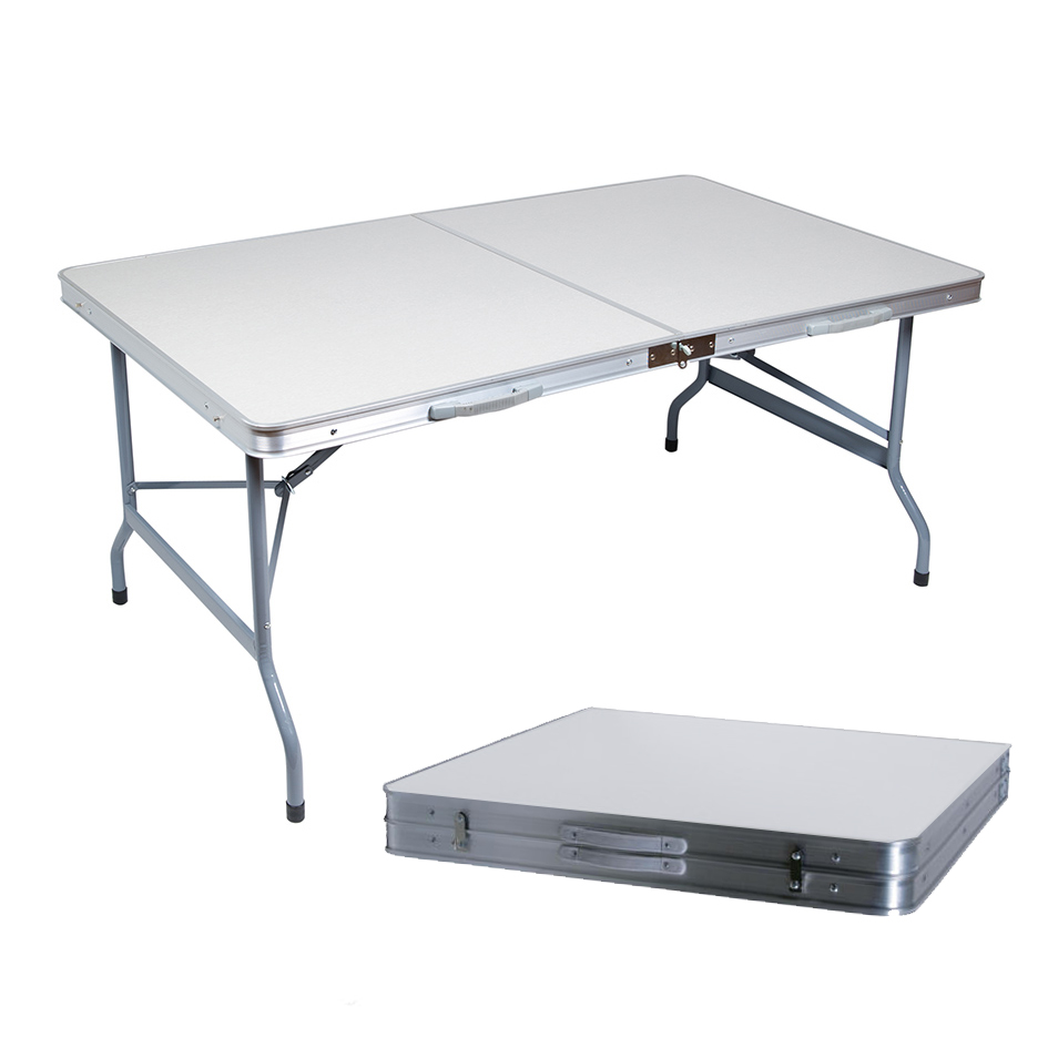 Table de camping valise goliath 150x80cm - Table camping valise ...