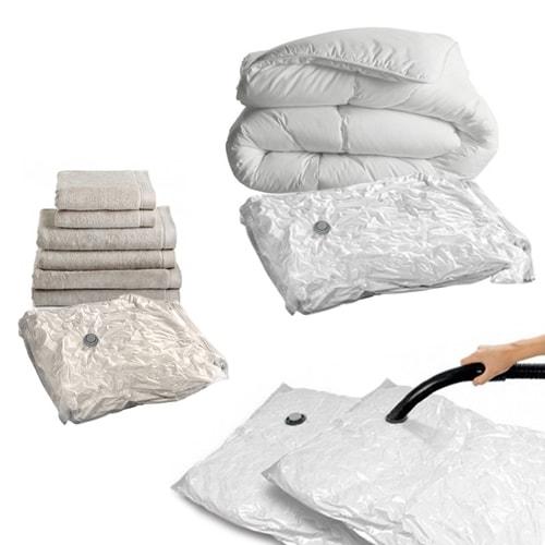 sacs de rangement sous vide 130x74 et 86x50 cm camping. Black Bedroom Furniture Sets. Home Design Ideas